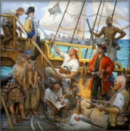 Capture of the Whydah Galley